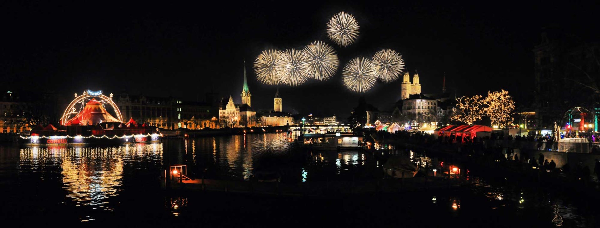 Happy new year in Zurich - Switzerland