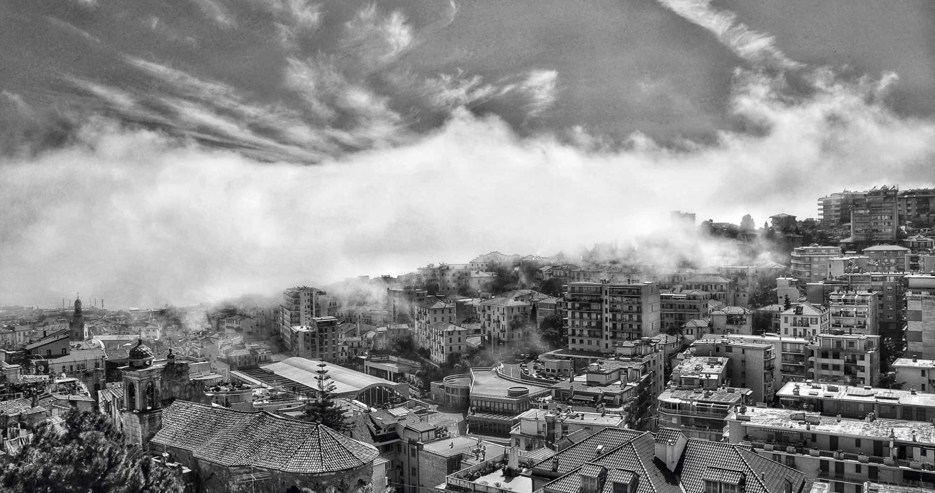 Mistery fog in Sanremo - Italy