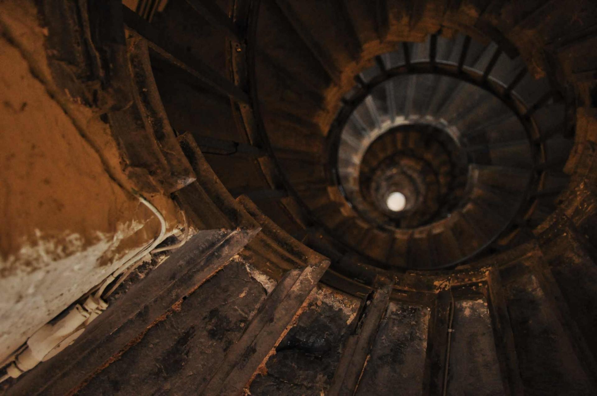Inside a London Tower