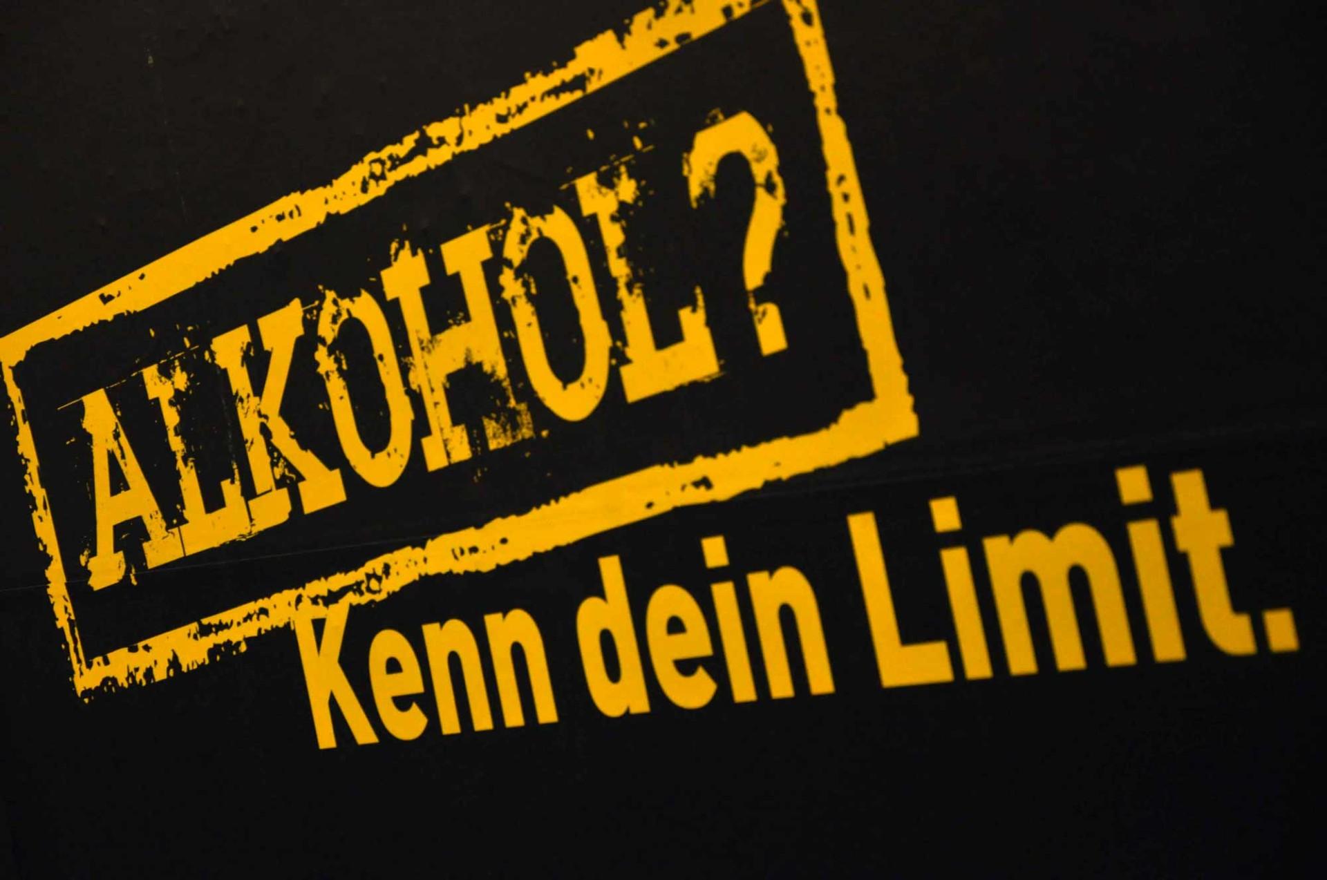 Alkohol? Kenn dein limit?