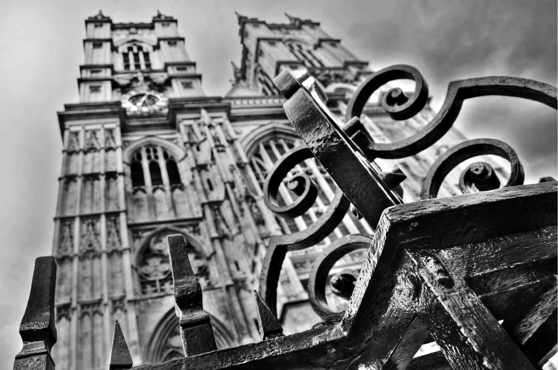 Westminster abbey in London (uk)
