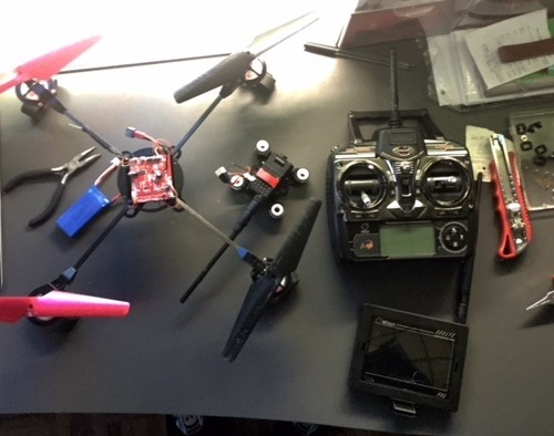 quadcopter v666